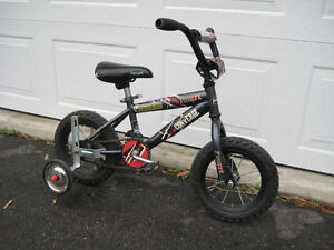 """Free Spirit """"Converge"""" 12"""" bicycle with training wheels"""