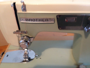 "Collector ""Brother"" Portable Sewing Machine"