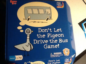 Don't Let the Pigeon Drive the Bus Board Game