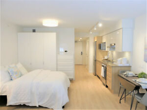 Furnished Studio - Downtown Vancouver - Brand New Building