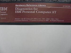 "VINTAGE IBM AND DIGITAL RESEARCH SOFTWARE ON 5 1/4"" DISKETTES"