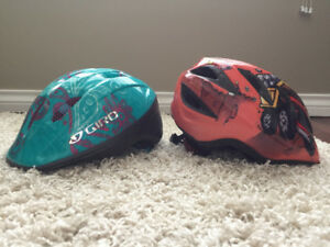 Kids Giro bike helmets