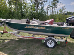 14ft Legend with 35hp and trailer