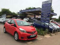 2012 62 Toyota Yaris 1.33 VVT-i ( 99bhp ) TR 5 Door, 30,000 miles.