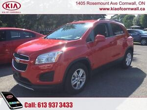 2015 Chevrolet Trax LT w/1LT  | Local Trade | Lows Kms | Well Ca