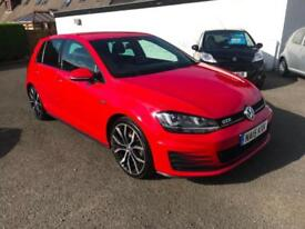 Volkswagen Golf 2.0 TDI BlueMotion Tech GTD 5dr. Finance Available. One Owner