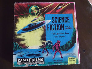 Film 8 mm ou 16 mm The creature from the lagoon