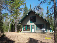 Camp cottage for sale on ATV and snowmobile trails hunting fish