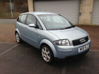 51 reg Audi A2 SE 1.4 - 5 Door Metallic Blue