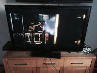 "PANASONIC TX-P42ST31B 42"" PLASMA 3d Tv With 2 Sets Of Glasses"