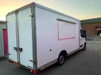 RENAULT MASTER 2.3CDTI MOBILE CATERING/BURGER/KEBAB/FOOD/COFFEE/ VAN FOR SALE