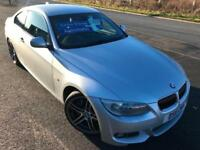 BMW 335 3.0TD 286 BHP M SPORT AUTO DIESEL £69 WEEK SAT NAV LEATHER COUPE 2011