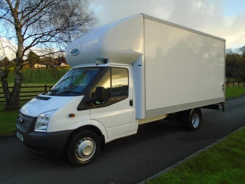 FORD TRANSIT 350 125PS LUTON TAIL LIFT 13 REG 65,000 MILES