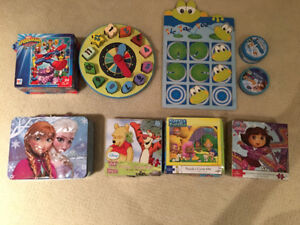Various Puzzles and games
