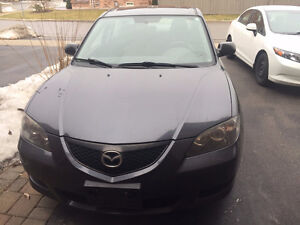 2006 MAZDA3, AUTO, LOW KMS, NO ACCIDENT, 1 OWNER / CERTIFIED