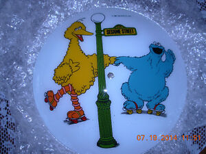 Sesame street Bert Ernie Cookie Mon light fixtures,mint,non smok