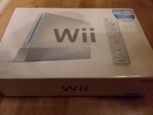 Wii Sports console...like new