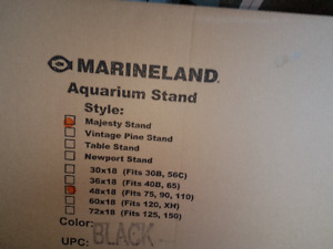 new fish tank stand 75 to 110 gallon