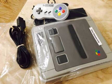 Super nintendo inc all leads &one controller and 40 days warranty