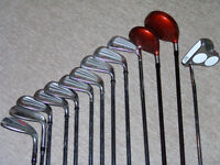 TaylorMade and Wilson golf