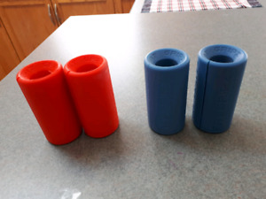 Fat grips and lifting belt