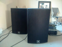 JBL Sound Power SP215-6 avec Ampli QSC serie 3800!