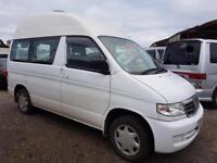 MAZDA BONGO HIGH TOP CAMPERVAN WITH FULL REAR CONVERSION