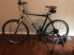 TREK 7500 Hybrid and CYCLE OPS TRAINER LIKE NEW
