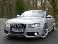 2009 59 Audi S5 3.0 V6T Supercharged 328PS S Tronic Quattro..HIGH SPEC..STUNNING