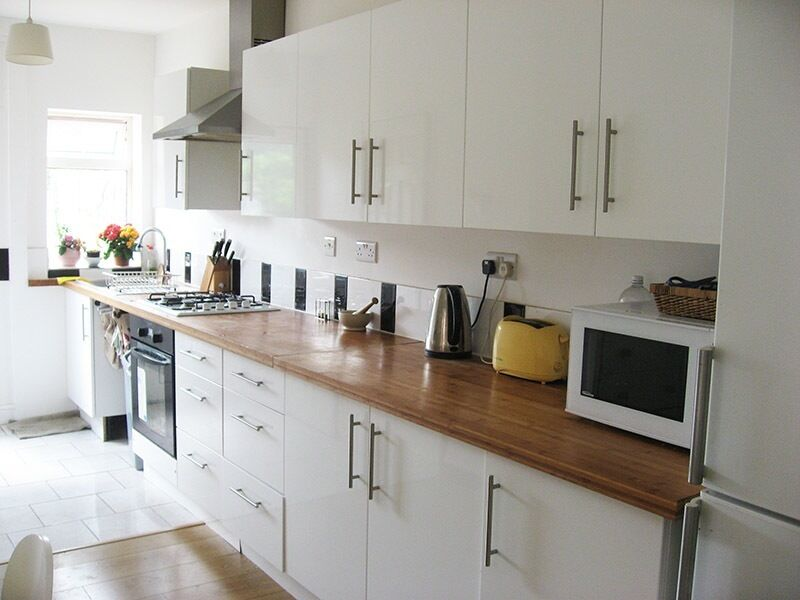 white gloss kitchens for sale kitchen for white gloss with bamboo worktops sink 330