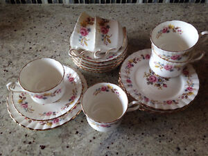 Reduced: Vintage Collectors Royal Stafford Bone China