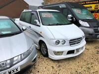 Nissan Largo highway star 2.4 Petrol 8 seater with bed 1997 model