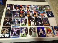 Baseball insert cards- lot of 27