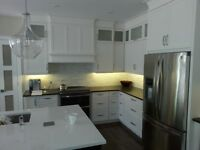 kitchen cabinet and refinish