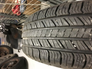 185/70/14 good year summer tires with rims