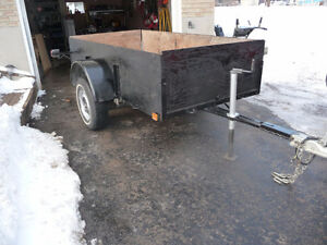 UTILITY TRAILER  light weight  very solid construction !