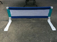 Portable bed rail