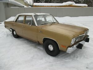 1973 Plymouth Valiant  Western Car