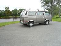 1986 Volkswagen Bus/Vanagon camper Minivan, Van