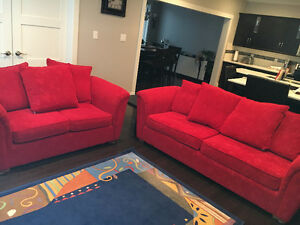 Sofa set from The Brick