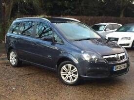 2006 Vauxhall Zafira 1.8i 16v Active Blue only 65,322 Miles FVSH 1 OWNER 7 SEATS