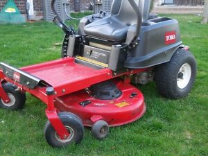 Toro zero turn riding mower