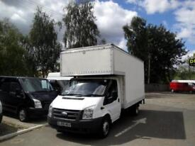 2009 FORD TRANSIT 2.4 TDCI LUTON VAN 6 SPEED WITH TAIL LIFT