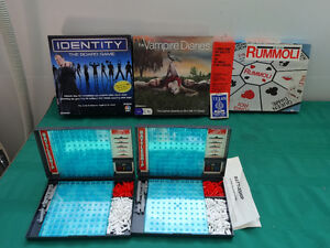 Identity the Board Game OR Vampire Diaries OR Battleship