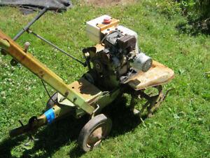 garden tiller mtd 5 hp horizontal front drive.