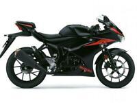 2019 SUZUKI GSX-R125, learner legal ,fastest 125cc,ULEZ Compliant, A1