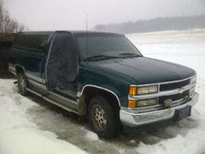 1996 Chevrolet Silverado - 350 Engine - 8ft. Long Box