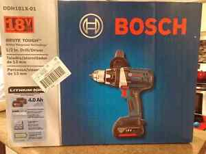 Bosch Brute Tough drill kit for sale!!