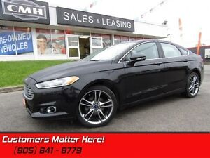 2014 Ford Fusion Titanium  NAV! CAM! ROOF! LEATHER! LOADED!