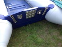 Inflatable boat repaired restored punctures fuxed